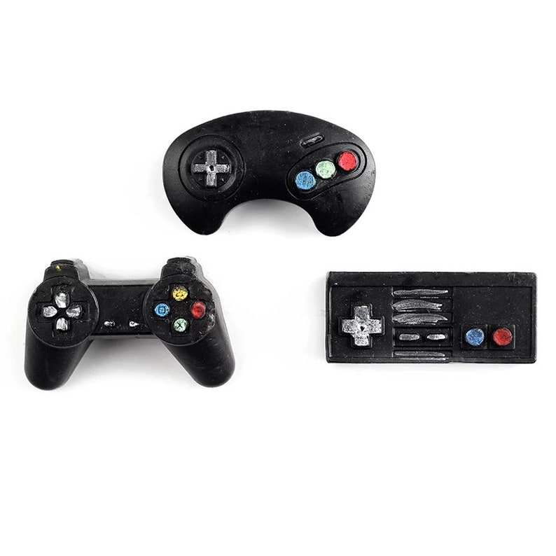 game controller Shape Silicone Baking Mould Accessories Fondant Cake Docor DIY