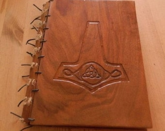 Plating Walnut wooden book cover