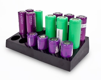 20700/18650 Battery Stand Combo