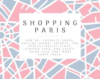 Paris Shopping Guide - Now as Digital Download