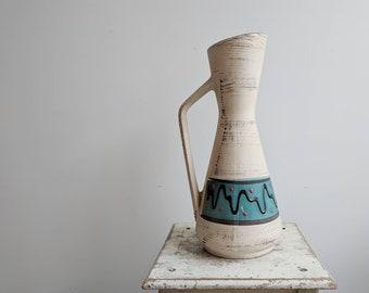 Midcentury Modern French Ceramic Carafe or Vase
