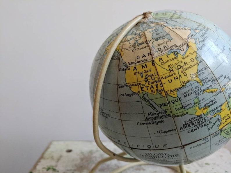 Vintage Globe Antique Globe Vintage World Globe Globe On Etsy