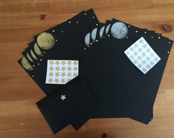 Full Moon Stationary Set