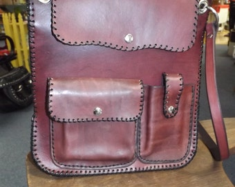 Custom Made Leather Purse