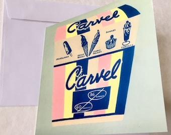 Carvel Carton Card