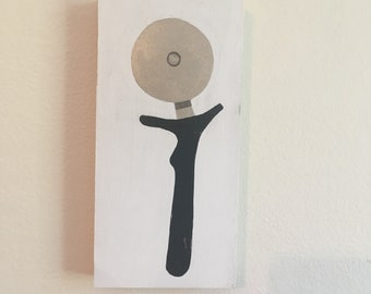Pizza Cutter Painting