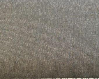 Ella Blue Fabrics - Gertrude Made Essentials -  Yarn Dyed Light Blue (looks more slate)  Cotton Woven Fabric