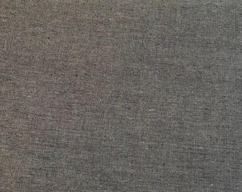 Ella Blue Fabrics - Gertrude Made Essentials -  58 Inch Dark Indigo Blue light weight cotton fabric