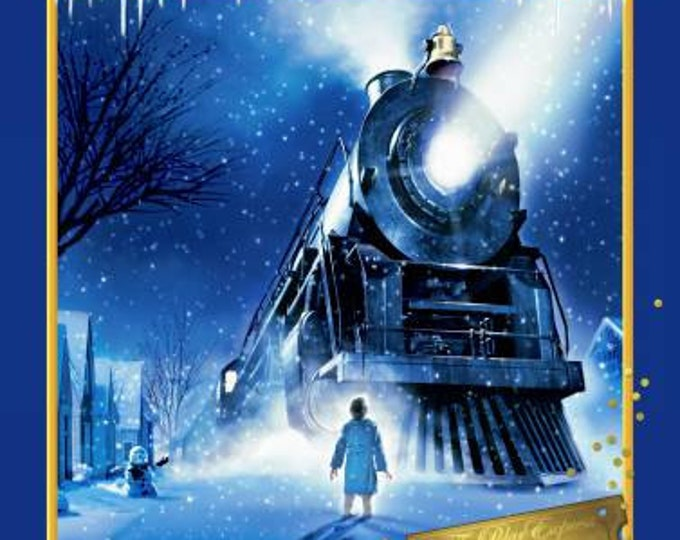 "CLEARANCE - Springs Creative - The Polar Express - 36"" Panel Cotton Woven Fabric"
