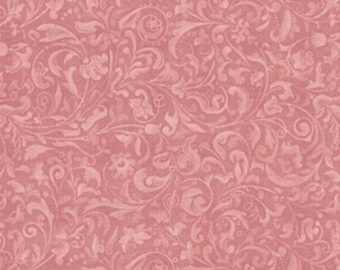 Quilting Treasures - Licensed Santoro Mirabelle Curiosities, Lost and Found -  Rose Scroll Cotton Woven Fabric