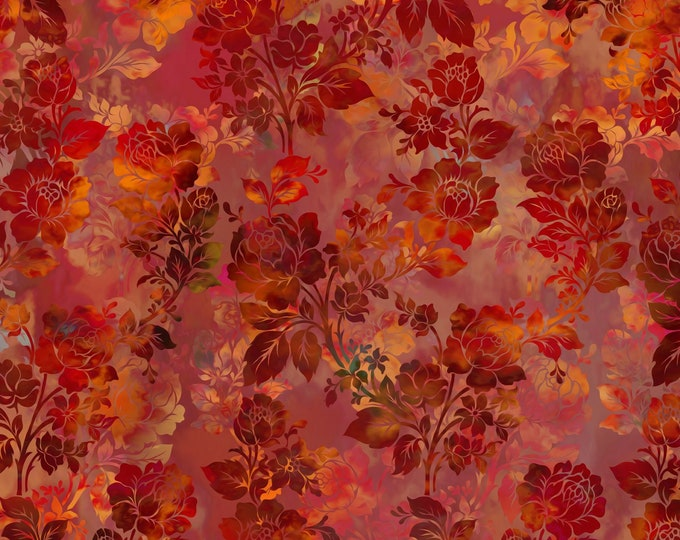 In the Beginning Fabrics - Diaphanous by Jason Yenter  - Brown 1ENC-1 Cotton Woven Fabric