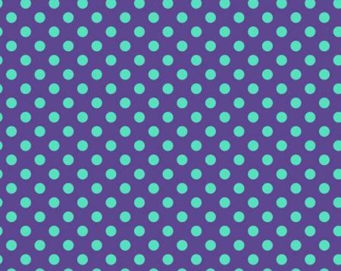 Tula Pink -  All Stars -  Pom Poms Iris Cotton Woven Fabric