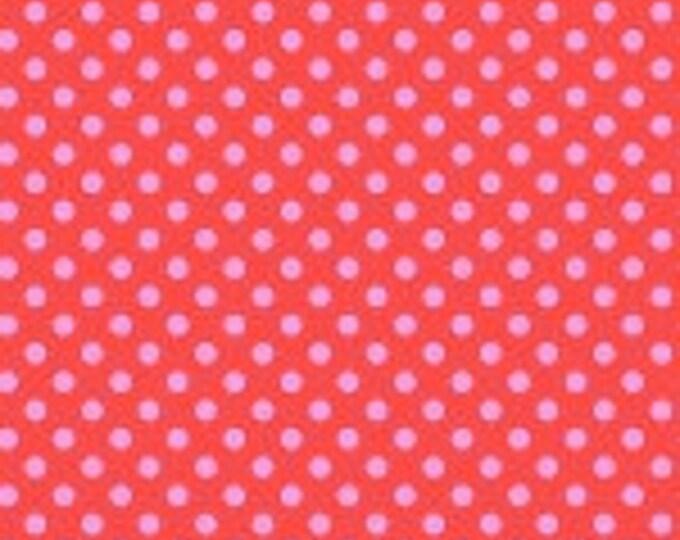 Tula Pink -  All Stars -  Pom Poms Poppy Cotton Woven Fabric