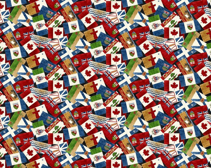 Northcott Fabrics - Canadian Classics by Deborah Edwards - DP22530-99 Digitally Printed Cotton Woven Fabric