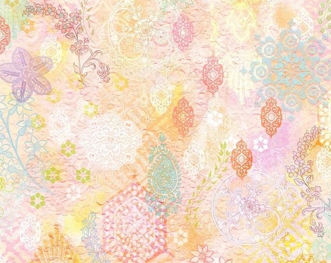 RJR Fabrics - Arabesque -  Digital Pastal Medallions Cotton Woven Fabric