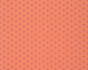Tula Pink -  True Colors Ladybugs Nectar Orange Cotton Woven Fabric