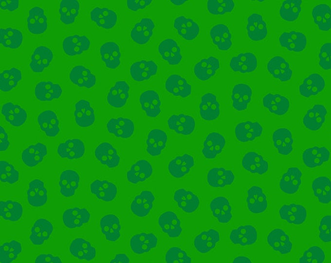 Andover Fabrics - Libs Elliott - Mix Tape - Tainted Love - Emerald   A8870G Cotton Woven Fabric