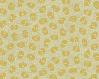 Andover Fabrics - Libs Elliott - Mix Tape - Tainted Love - Gold Tailor's Cloth A8870M Cotton Woven Fabric