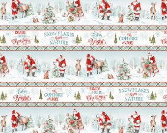 Wilmington Prints - A Magical Christmas by Lisa Audit - Stripe # 86460-417 - Cotton Woven Fabric