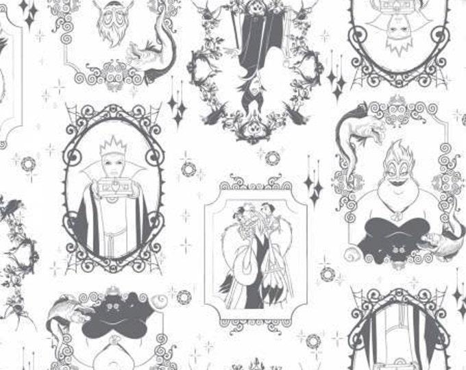 Disney's Evil Queens Frames on Iron Cotton Woven, Camelot Fabrics