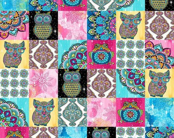 "Blank Quilting - Mandala Tango - 3"" X 3"" Patch #9649-22 Cotton Woven Fabric"