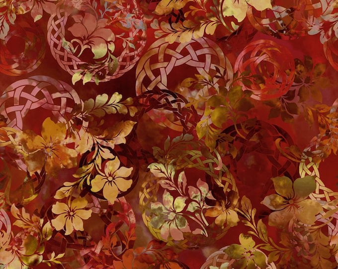 In the Beginning Fabrics - Diaphanous by Jason Yenter  - Brown 3ENC-1 Cotton Woven Fabric