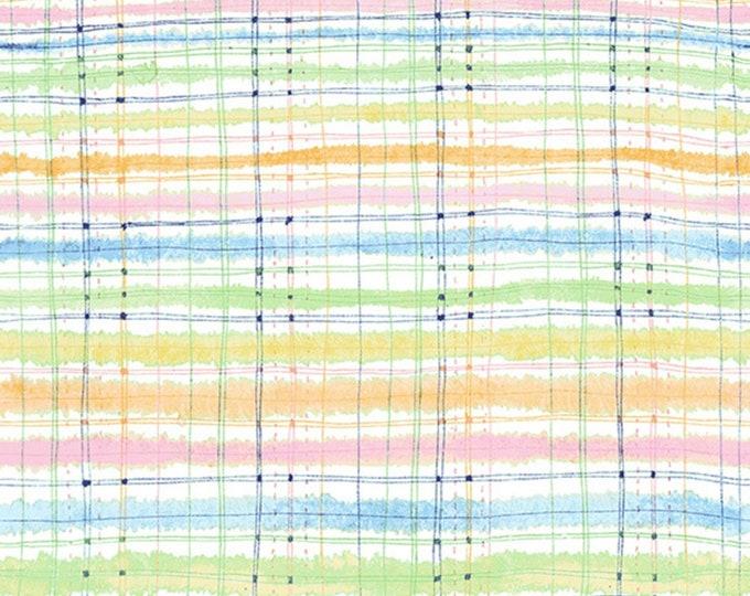 RJR Fabrics - Bloom Bloom Butterfly - Picnic Blanket Rainbow # RJ1204J-RA4 - Cotton Woven Fabric