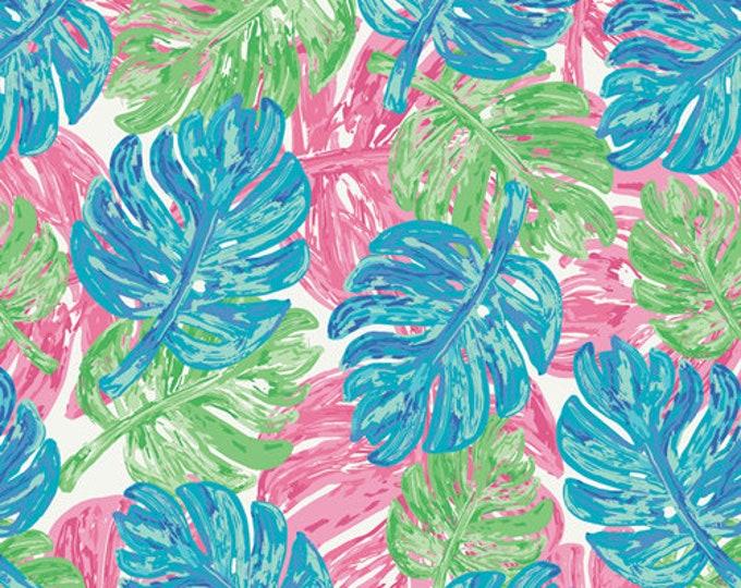 Art Gallery Fabrics - West Palm - Palmrise Aruba Wind   #WPA-54506 Cotton Woven Fabric