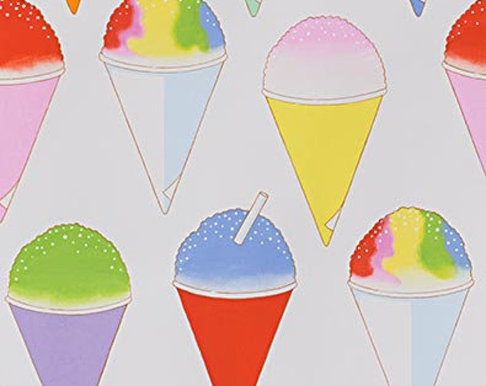 Natural Snow Cone Cotton Woven Fabric #8727- Alexander Henry Fabrics
