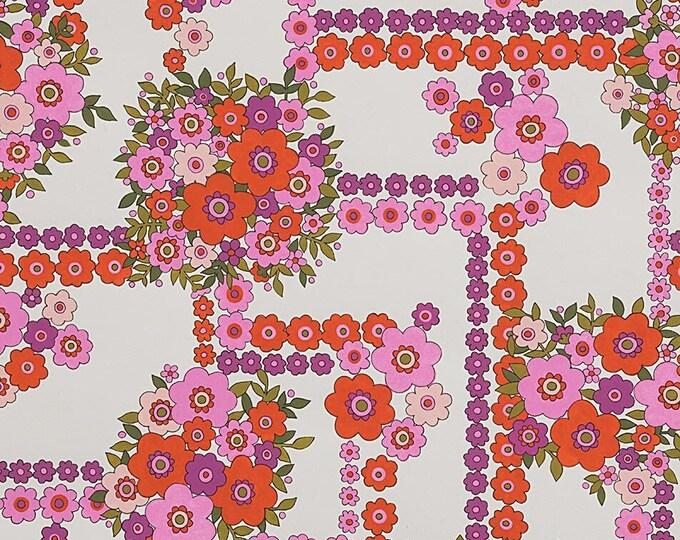 Alexander Henry Fabrics - The Ghastlies - Bouguet-8789B Natural  - Cotton Woven Fabric