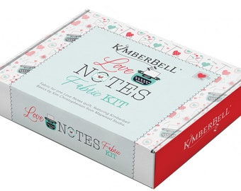 Maywood Studios - KimberBell's Love Notes Quilt Love Notes 40in x 40in, fabric only for top & binding # KIT-MASLON
