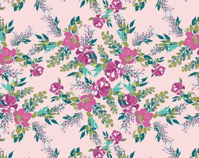 Art Gallery Fabric - Virtuosa - Carina Episodic Blooms - Cotton Spandex Knit