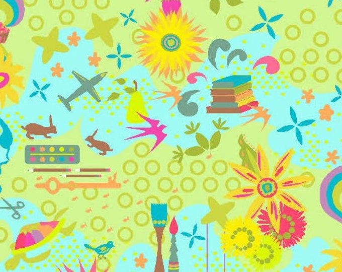 Andover Fabric - Remix by Alison Glass - Ex Libres - Sunny Favorites cotton fabric