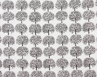 Alexander Henry Fabric - A Ghastlie Forest Natural Cotton Woven Fabric