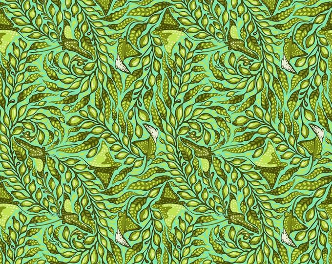 Tula Pink - Zuma - Stingray - Seaglass    PWTP123-SEAG Cotton Woven Fabric