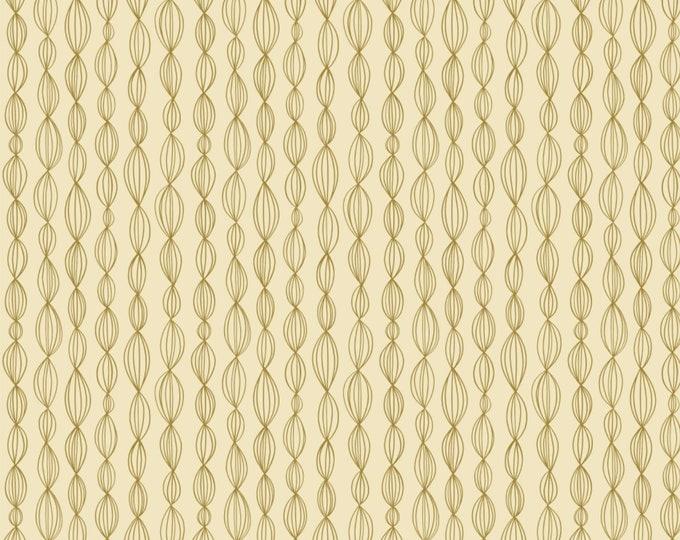 Camelot Fabrics - Petal Pushers by Elizabeth Silver - Celery Geo   #27180204-03 Cotton Woven Fabric
