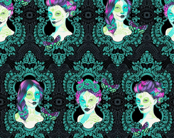 Tula Pink - De La Luna - Possessed Spirit Cotton Woven Fabric - 1 yard listing