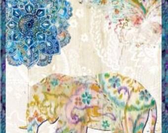 Wilmington Fabrics - Danhui Nai - Bohemian Dreams - 24 Inch Panel 89189-145 Cotton Woven Fabric