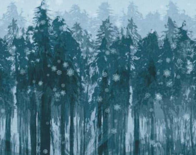 Robert Kaufman - Sugar Plum by McKenna Ryan - Midnight   Cotton Woven Fabric