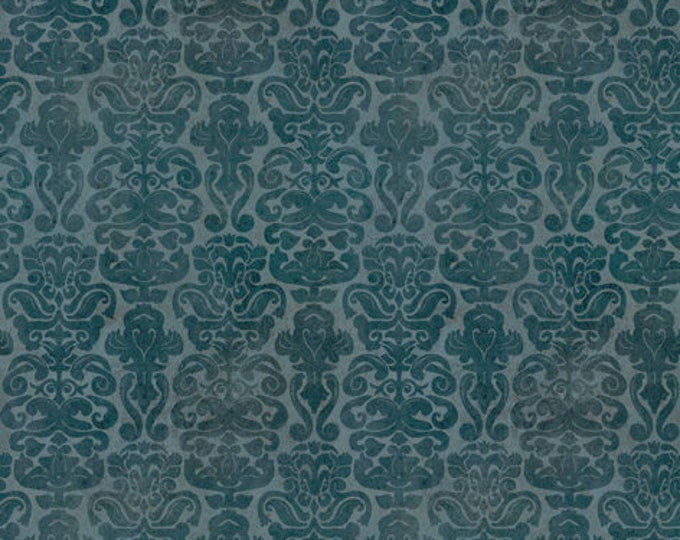 Quilting Treasures - My Story Licensed Santoro - Dark Blue Brocade 27144-W - Cotton Woven Fabric