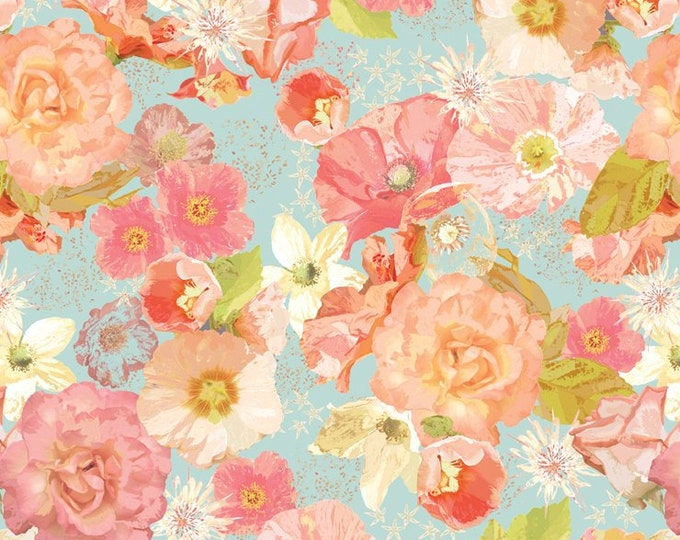 In The Beginning Fabrics - Believe by Peggy Brown - 1pbb_1 Cotton Woven Digitally Printed Fabric