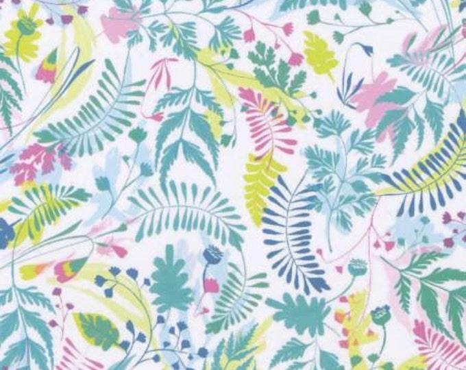SALE !!!!   Life Aquatic, Multi Sea Floral Cotton Woven, Dear Stella  - Price per yard !