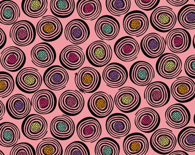 Quilting Treasures - Sugar Rush - Bubblegum Licorice Rolls Cotton Woven Fabric