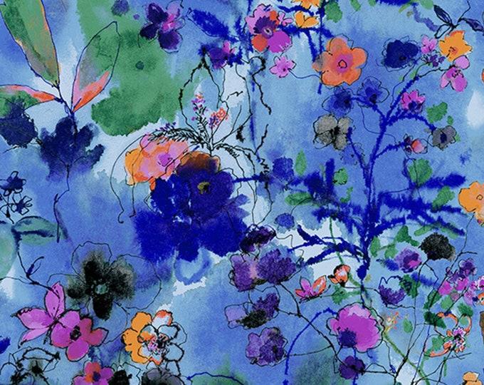 RJR Fabrics - Bloom Bloom Butterfly - Wild Meadow Twilight # RJ1202J-TW3 - Cotton Woven Fabric