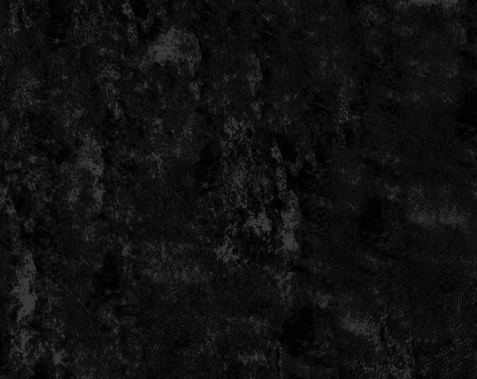 Clothworks - Something Wicked - Grunge in Black - Cotton Woven Fabric - y2429-3