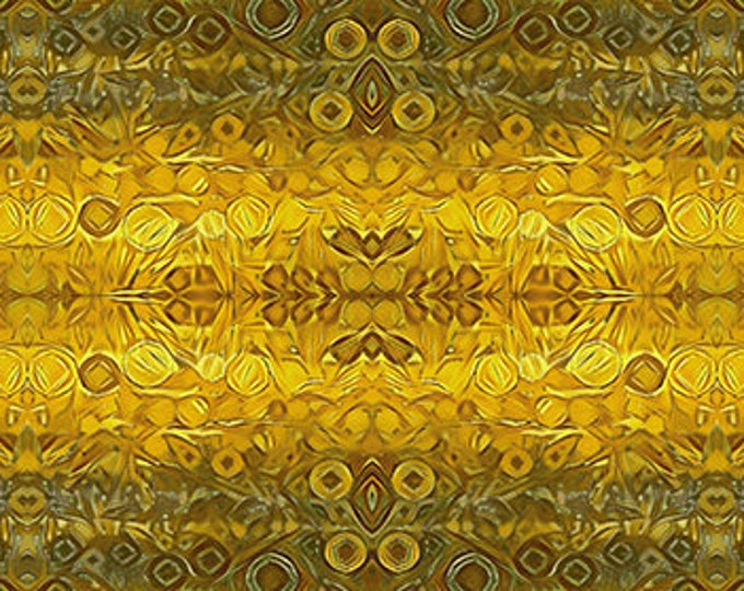 Andover Fabrics - The  Golden Hour by SAQA -  Fields of Gold  cotton woven fabric