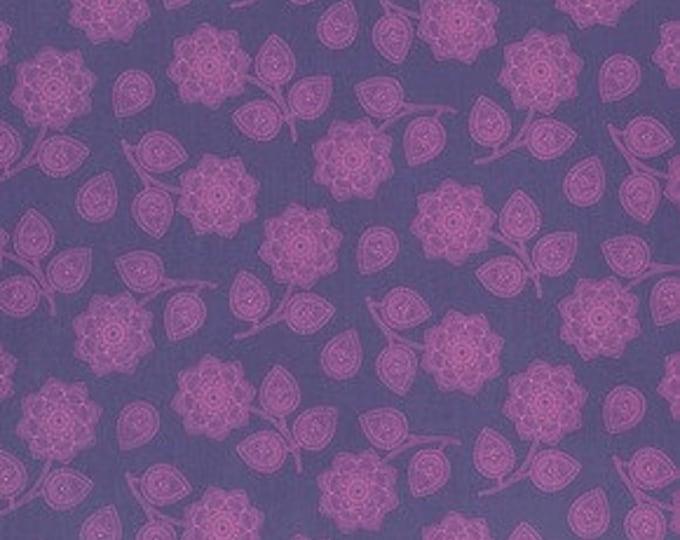 Tula Pink Eden Henna Amethyst Cotton Woven