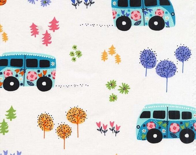 Michael Miller Fabrics  - Road Trip - Hit the Road CX7740-CELS-D cotton woven fabric