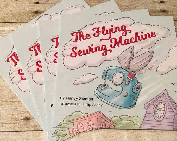 Notion - The Flying Sewing Machine book by Nancy Zeiman