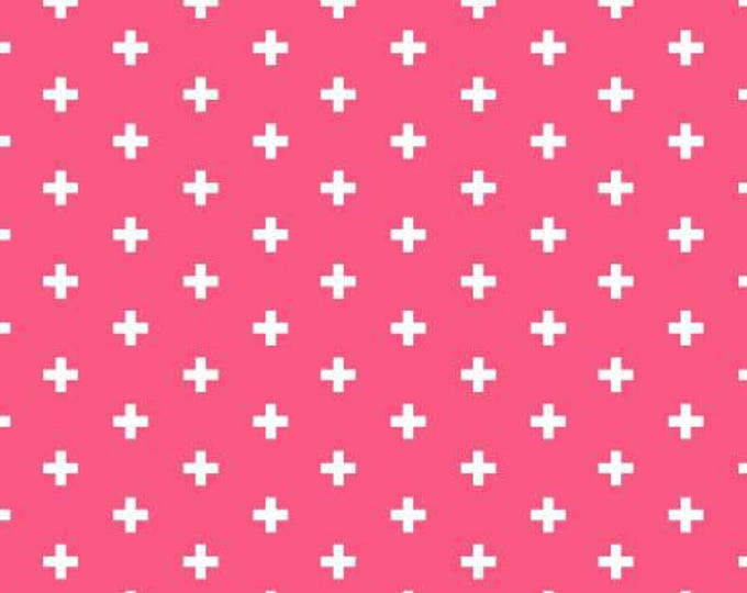 Dear Stella - Positive - Fuchsia Pink Cotton Woven Fabric